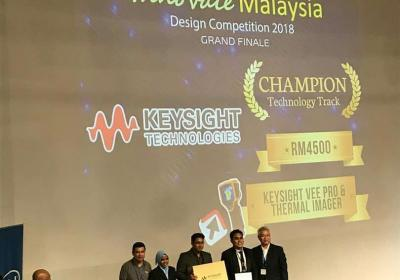 1st Prize in Innovate Malaysia 2018 Design Competition