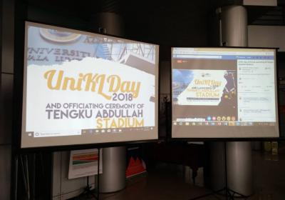 UniKL Day 2018 & Officiating Ceremony of Tengku Abdullah Stadium